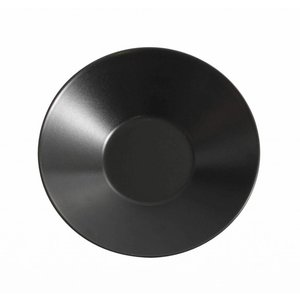 VIEJO VALLE  Deep plate black 23 cm
