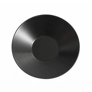 VIEJO VALLE  Diep bord zwart 23 cm
