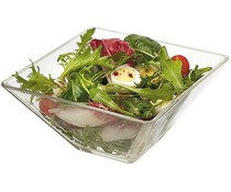 M&T Square glass bowl 20x20cm
