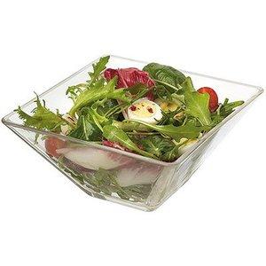 M&T Vierkante glazen bowl 20x20cm