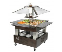 Roller Grill Salad bar chilled
