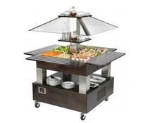 Roller Grill Salad bar gekoeld