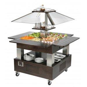 ROLLER GRILL  Salad bar electrisch gekoeld