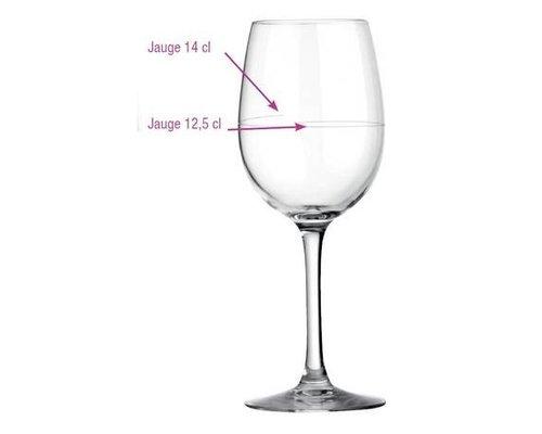 ARCOROC  Wijnglas 35 cl Cabernet met dubbel maatstreepje