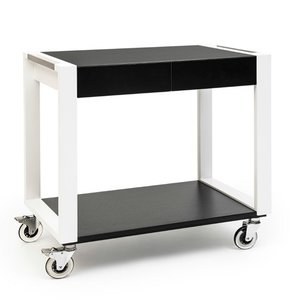 ZEPé Serving trolley 2 tiers black