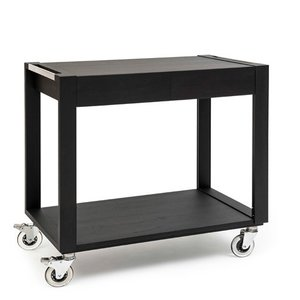 ZEPé Serving trolley 2 tiers wengé