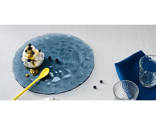 BORMIOLI ROCCO  Plat bord 33 cm Diamond blauw
