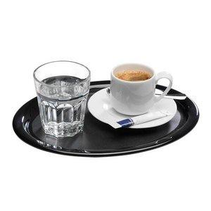 M&T Ovaal serveer dienblad 28,5 x 21,5 cm