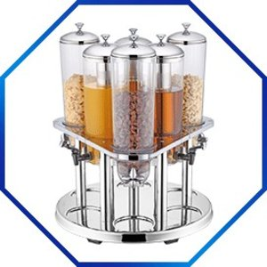 M&T Dispenser 3x juice 3x muesli