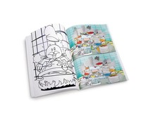 M&T Chef coloring book set of 50 pieces