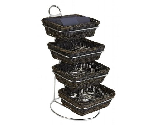 M&T Buffet stand including 4 GN 1/2 baskets