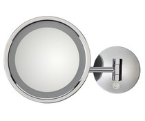 M&T Bathroom mirror 21 cm with LED lighting