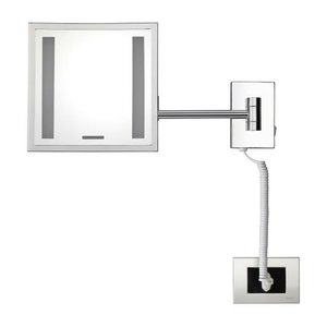 M&T Bathroom mirror square with LED lighting