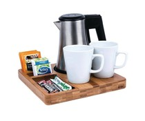 M&T Welcome tray including water kettle