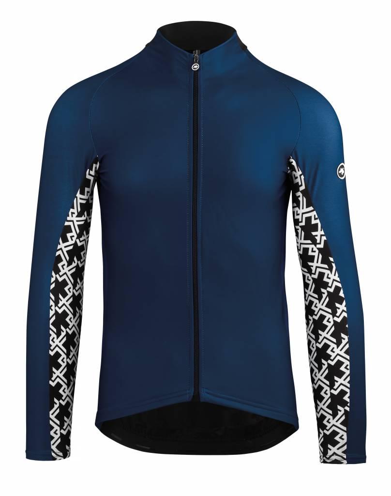Assos Assos Mille GT Spring Fall LS Jersey Blauw