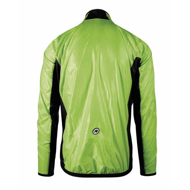 Assos Mille GT Wind Jacket regenjas Groen