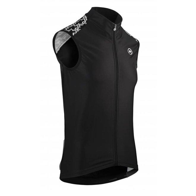 Assos Mille GT spring fall vest body Zwart