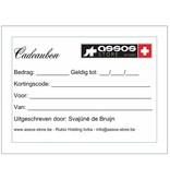 Assos Cadeaubon  (digitaal of per post)
