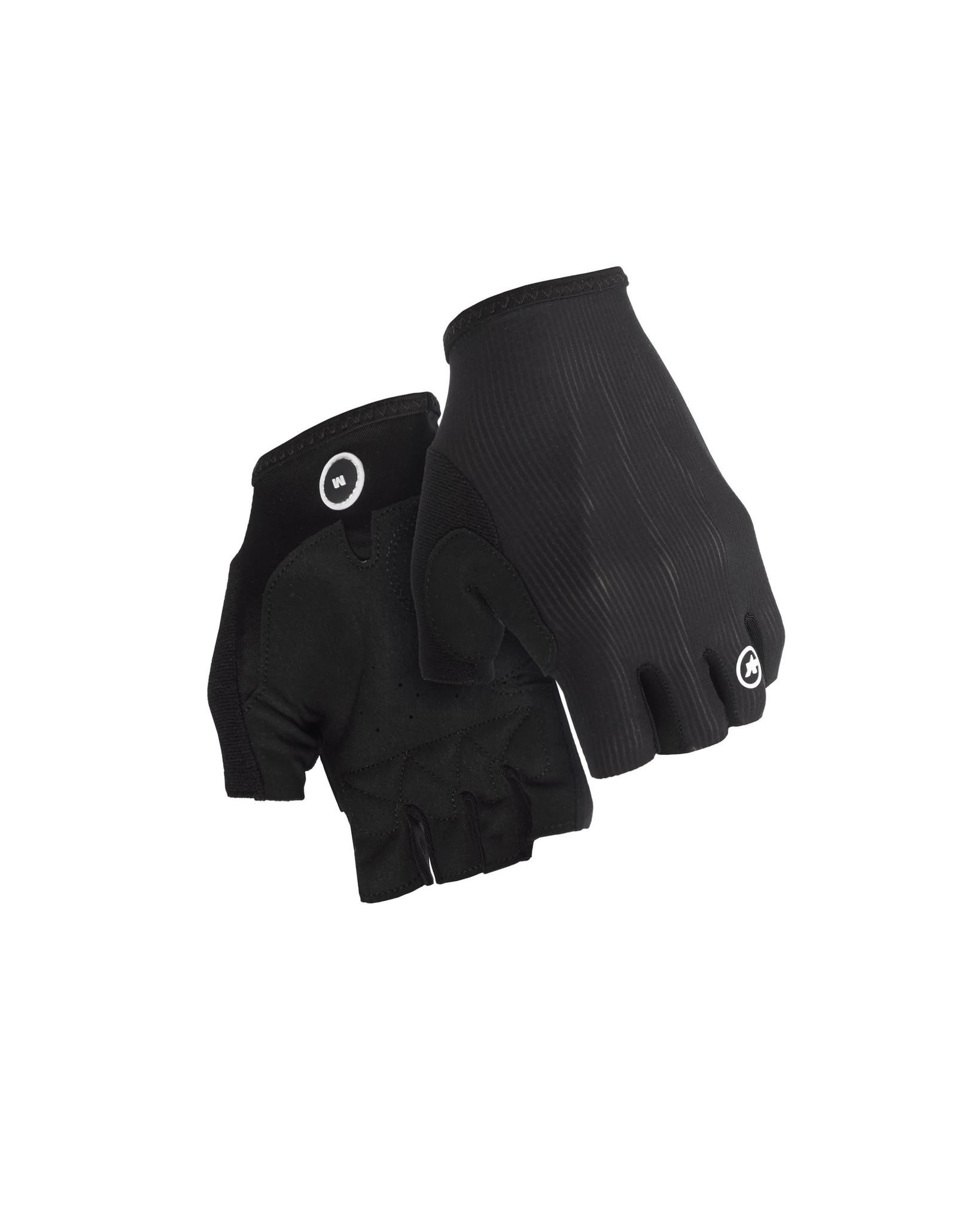 Assos Assos RS Aero SF Gloves zomerhandschoen Zwart