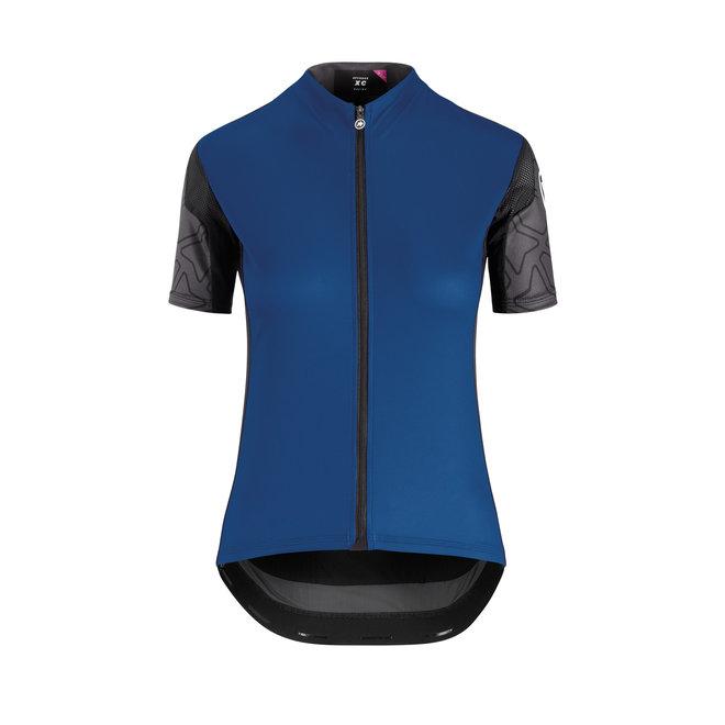 XC Shortsleeve jersey woman MTB Shirt Blauw