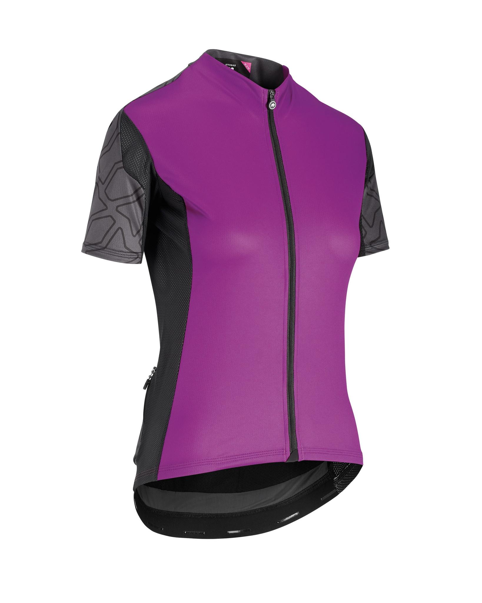 Assos Assos XC Shortsleeve jersey woman MTB Shirt Paars