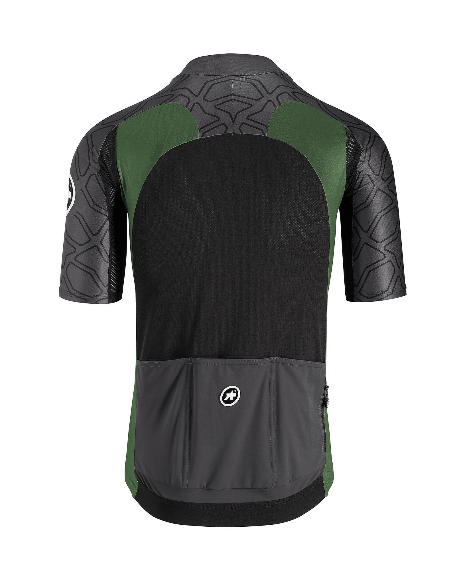 Assos Assos XC Shortsleeve jersey MTB Shirt Groen
