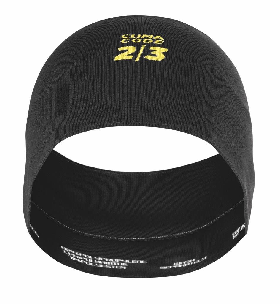 Assos ASSOSOIRES Spring/Fall Headband Zwart