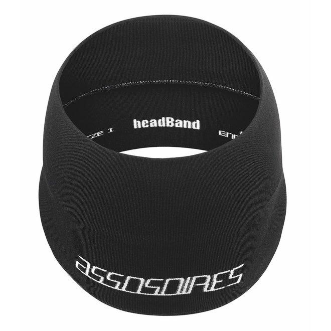 Assos Spring/Fall Headband Zwart