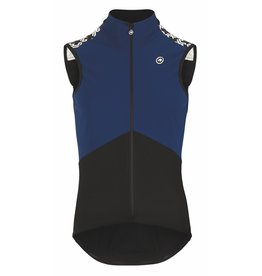 Assos MILLE GT Spring Fall Airblock Vest Blauw