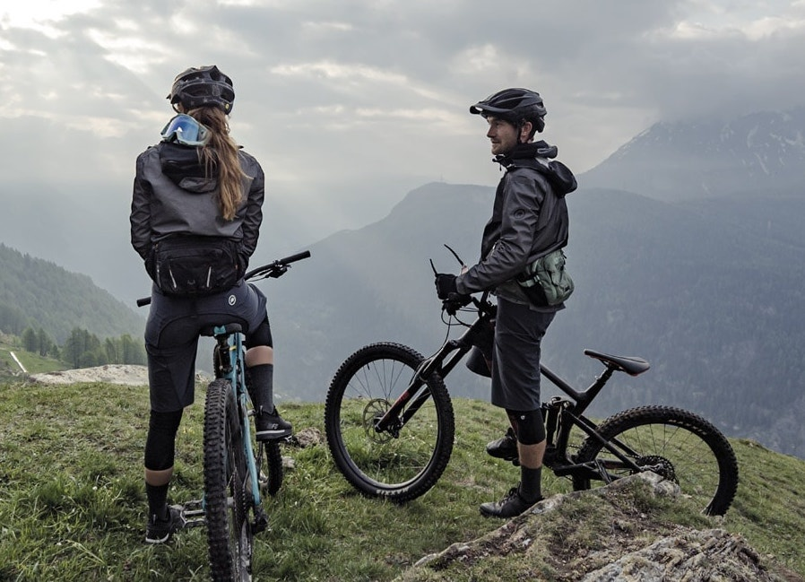 Assos Assos Trail Steinbeisser Rain Jacket  regenjas  zwart