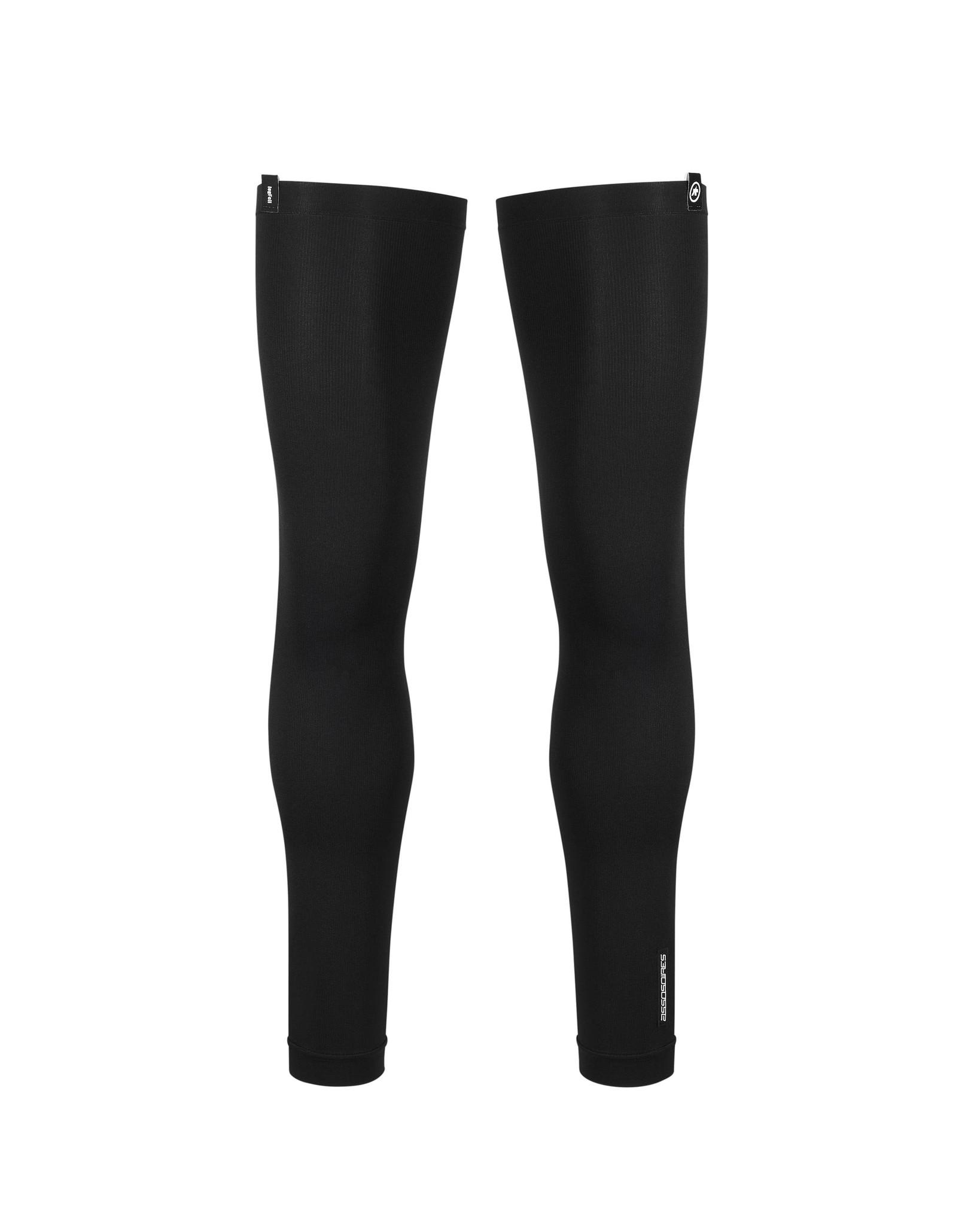 Assos ASSOSOIRES Leg Foil Zwart Beenstukken Beenwarmers