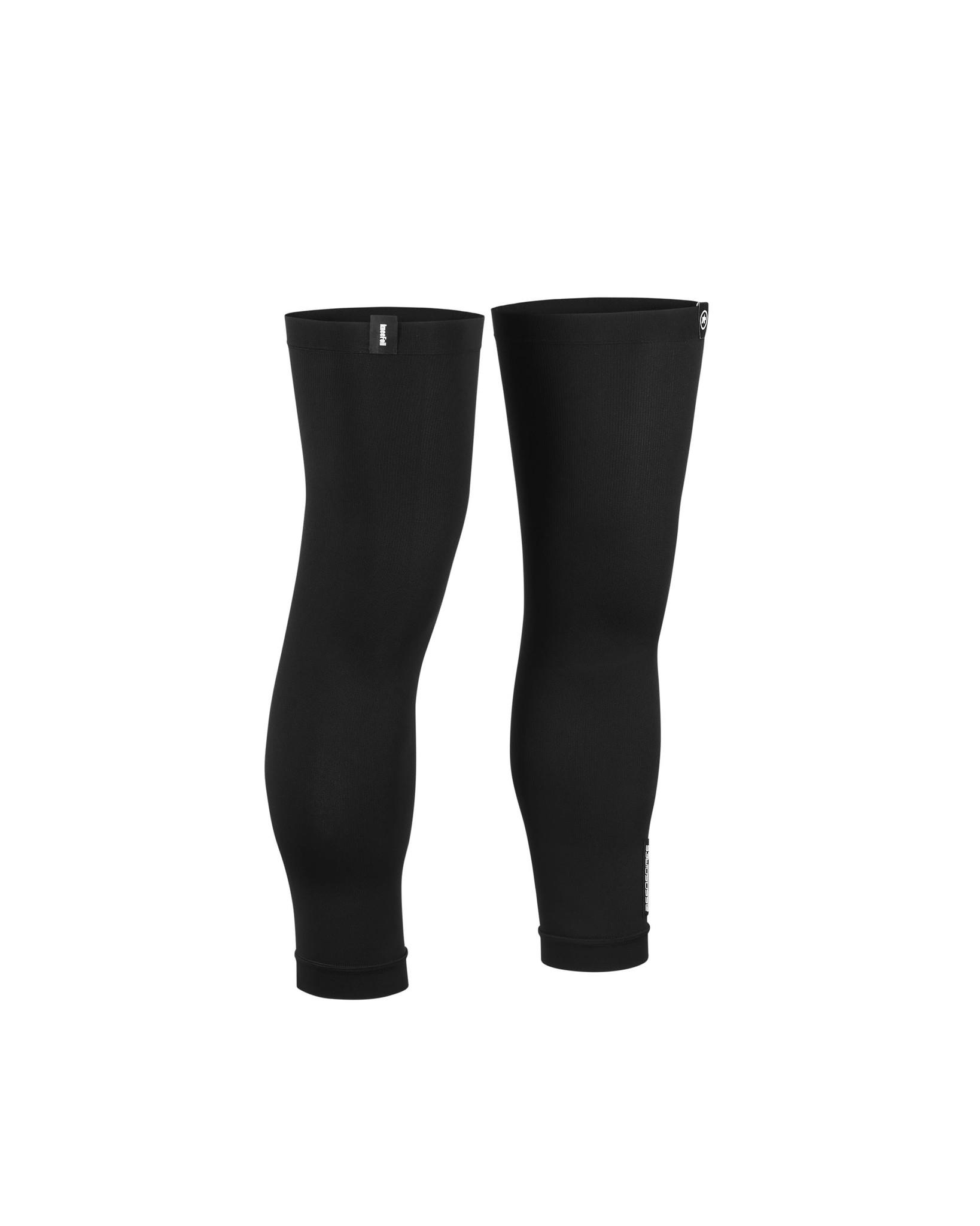 Assos ASSOSOIRES Knee Foil kniestukken zwart