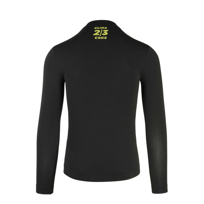 Assos Spring Fall LS Skin Layer Ondershirt Zwart (Heren)