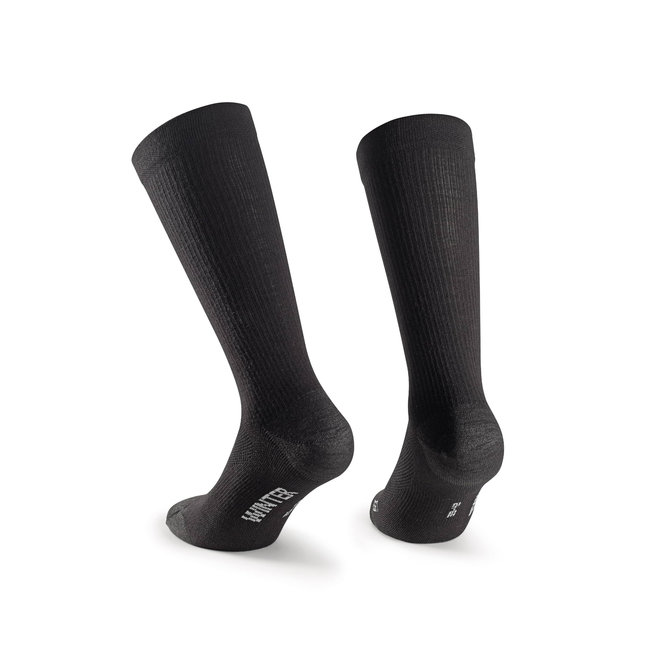 Assos Trail Winter Socks Zwart