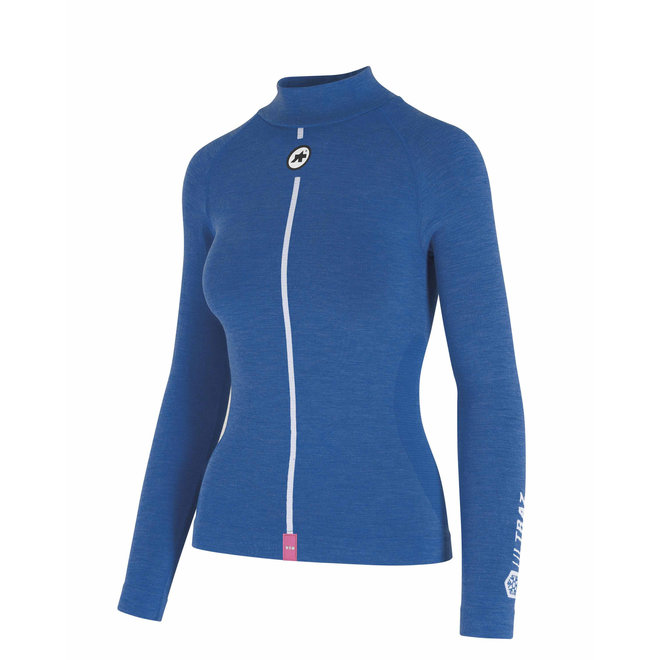 Assos Ultraz Winter LS Skin Layer - Ondershirt Blauw (Dames)