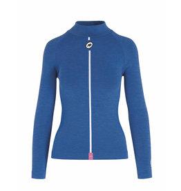 Assos Ultraz Winter LS Skin Layer - Ondershirt Blauw (Dames)