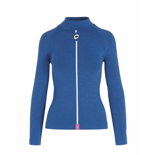 Ultraz Winter LS Skin Layer - Ondershirt Blauw (Dames)
