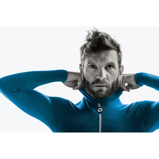 Assos Ultraz Winter LS Skin Layer - Ondershirt Blauw (Heren)