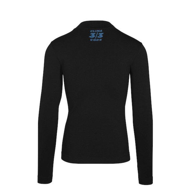 Assos Winter LS Skin Layer - Ondershirt Zwart (Heren)