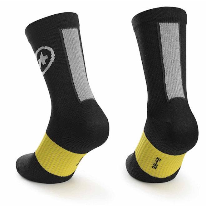 Assos Spring/Fall Socks sokken Zwart