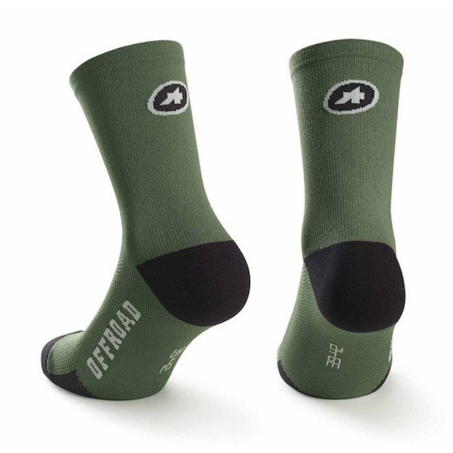 Assos XC Socks MTB sokken Groen