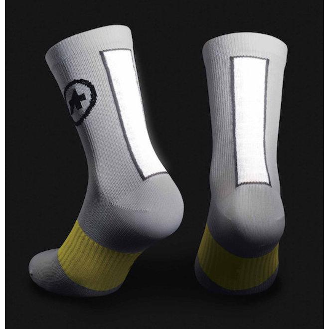 Assos Spring/Fall Socks sokken Wit