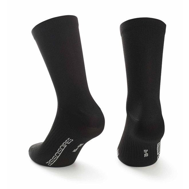 Assos Essence Socks twin pack Zwart
