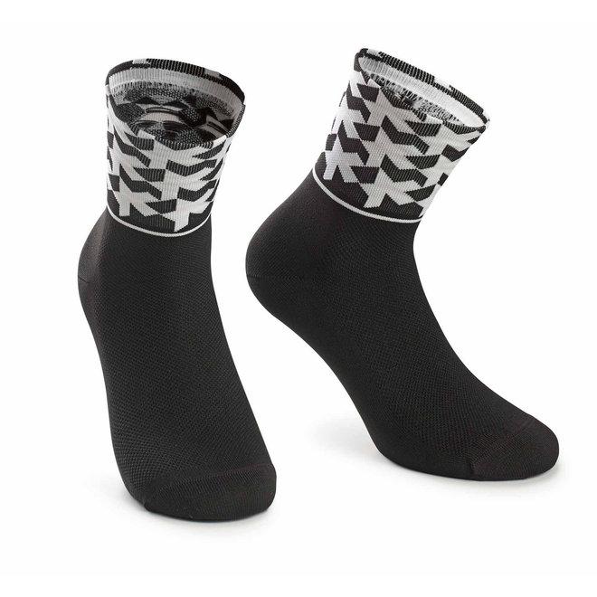 monogramSock_evo8 sokken Zwart