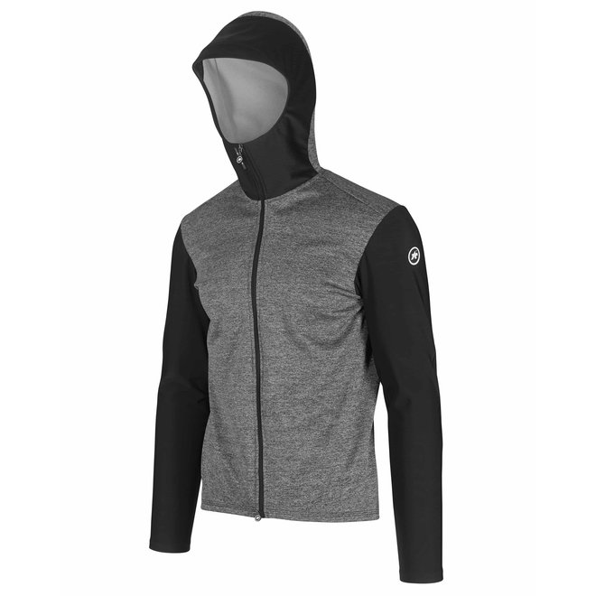 Assos Trail Spring Fall Hooded Jacket Heren