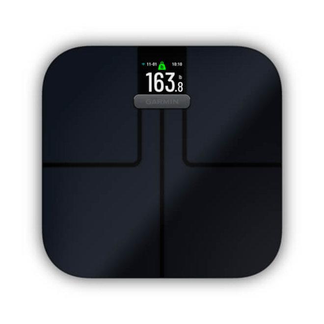 Garmin Index S2 Smart Scale weegschaal Zwart