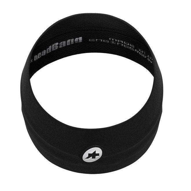 Assos Summer Headband Zwart