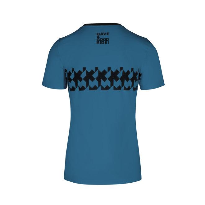 Assos Summer T-shirt - RS Griffe (Licht Blauw)