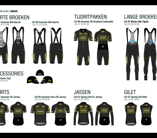Assos CG Custom Club Gear - team kleding - met bedrukking