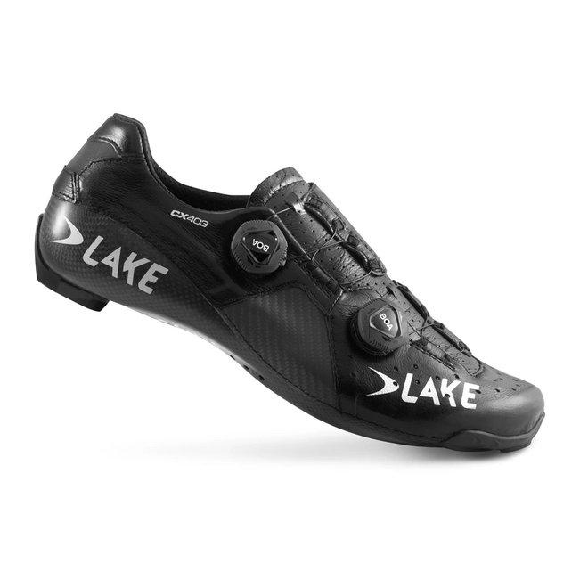 Lake CX 403 Raceschoenen Zwart / Zilver